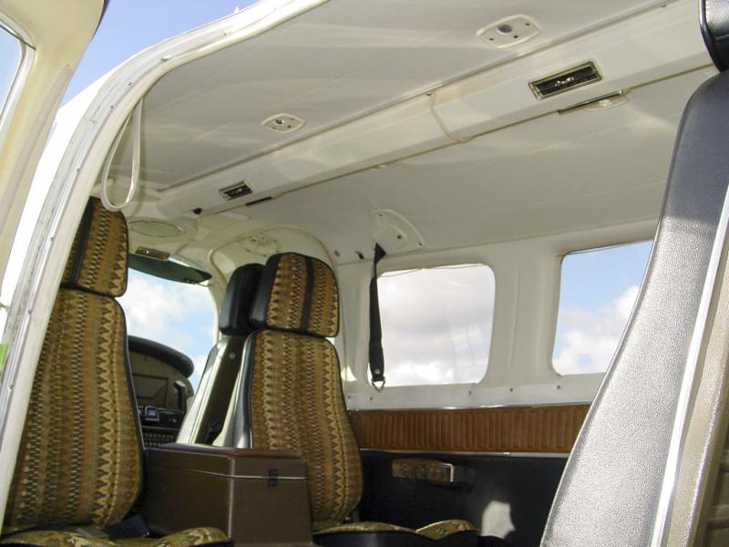 Rear Cabin Space