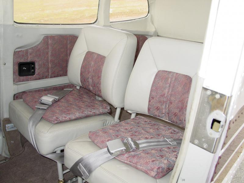 1968 Cessna A185E Skywagon Interior