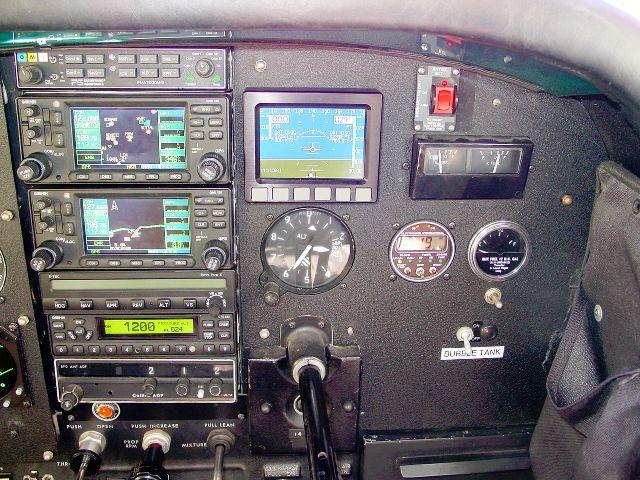 1978 Cessna 185F Skywagon Panel