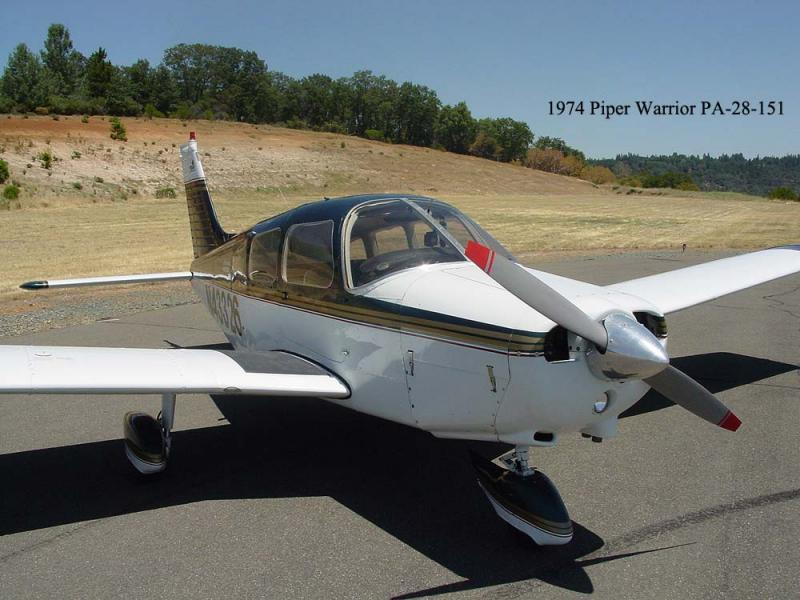 1974 Piper PA-28-151 $38,500. N43326 front right