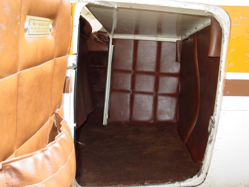 1955 Cessna 180 Skywagon Baggage Compartment