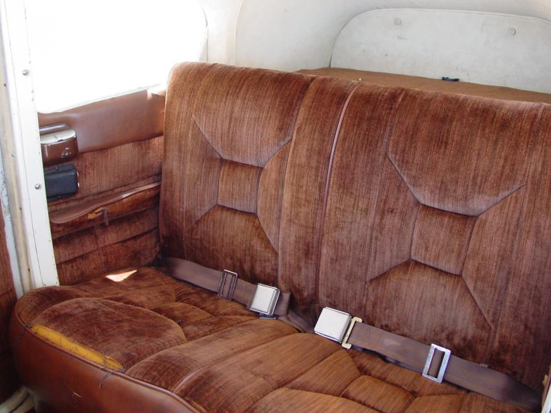 1955 Cessna 180 Skywagon Rear Seats