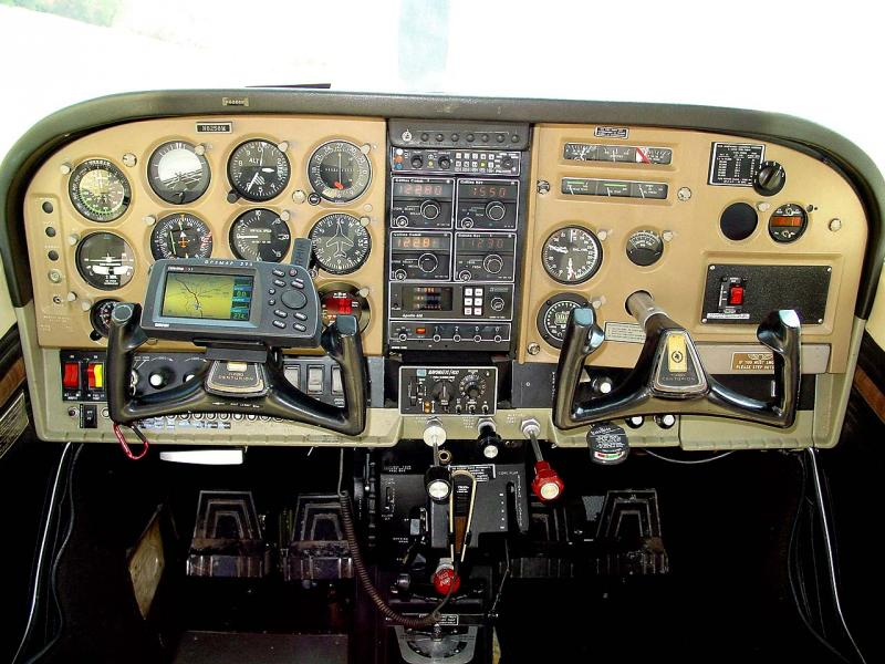 1970 Cessna Turbo T210K Panel