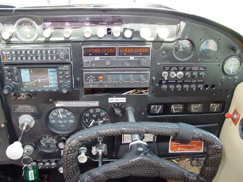 1959 Cessna 175 IO-360 180HP Panel
