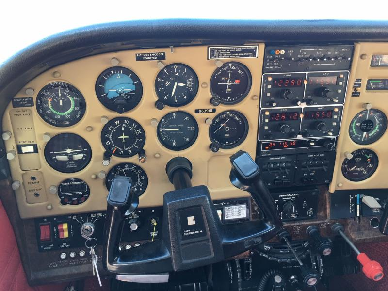 1980 Cessna Turbo TU-206G Super Stationair Panel