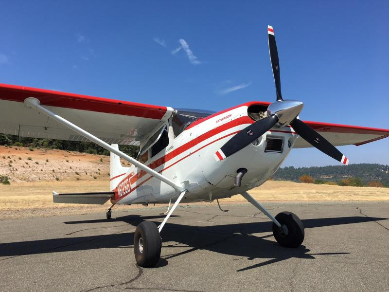 1977 Cessna 180K Skywagon with 0-520 Exterior