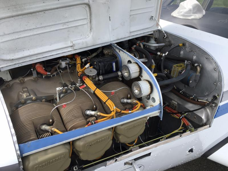 1971 Beechcraft F33A Bonanza Engine