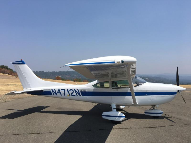 1982 Cessna Turbo 182R Fixed Gear Skylane Exterior