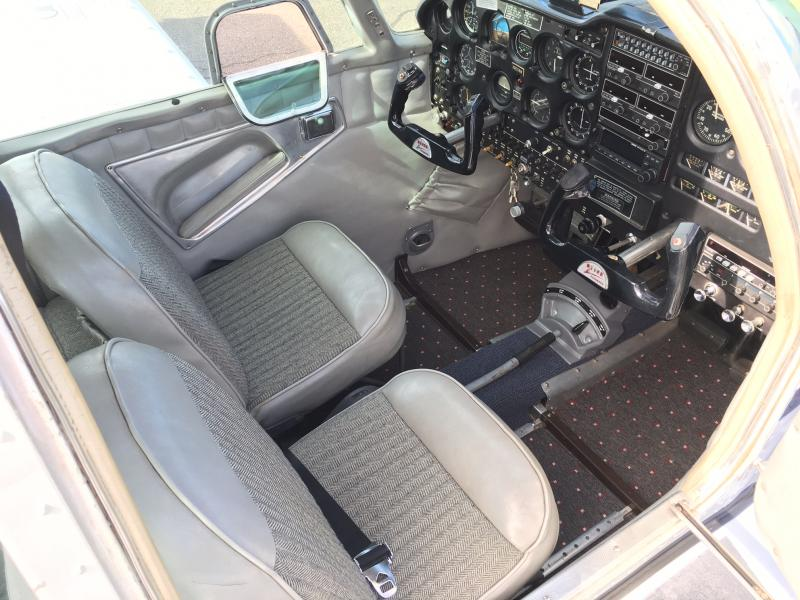 1967 Piper Cherokee 235B Interior