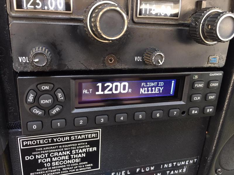 1974 Cessna A185F Skywagon panel