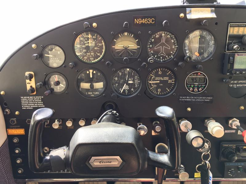 1955 Cessna 180 Skywagon Left Panel