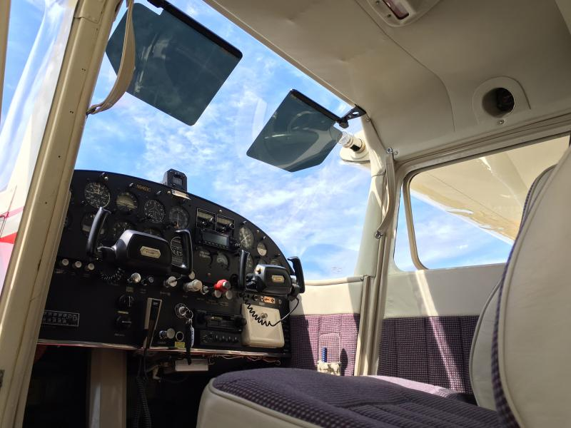 1955 Cessna 180 Skywagon Interior