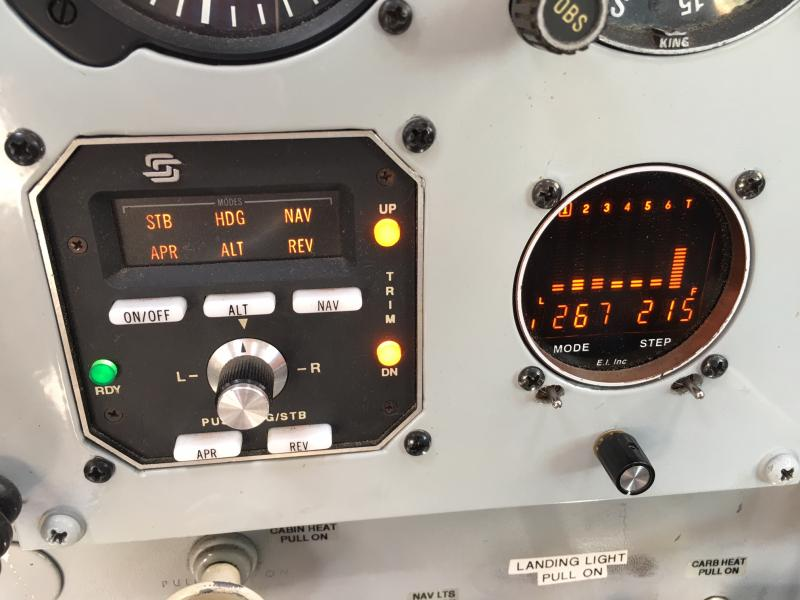 1967 Cessna 180 Skywagon Panel