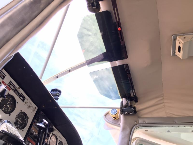 1967 Cessna 180 Skywagon Interior