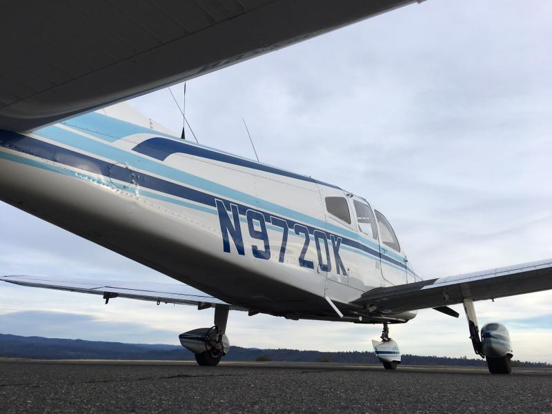1976 Piper PA-28-151 Warrior Exterior