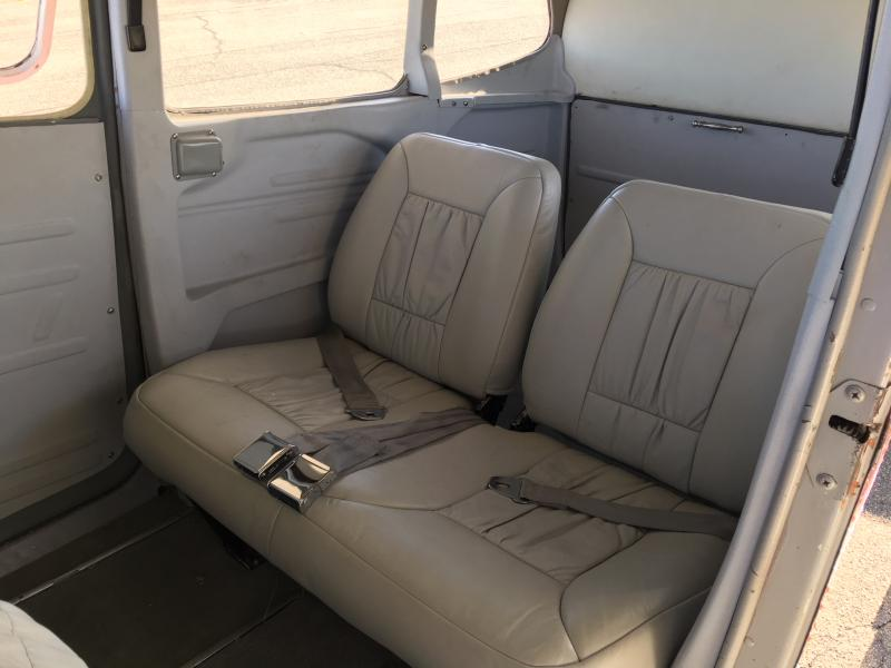 1978 Cessna 185F Skywagon Interior