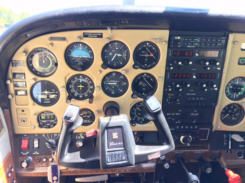 1980 Cessna 182 Turbo RG Panel