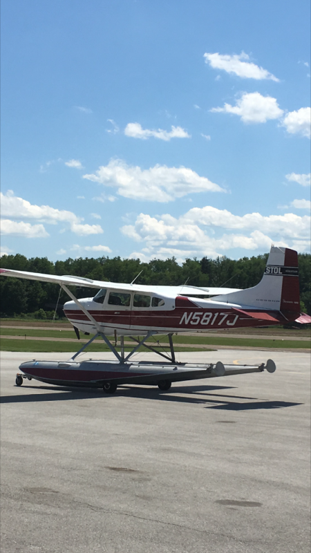 1970 Cessna 185E Skywagon`