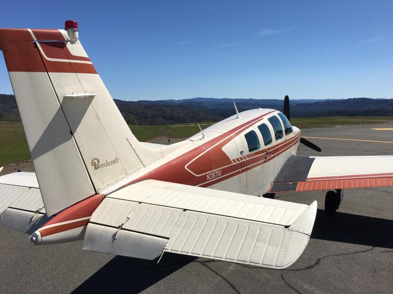 1981 Beechcraft A36TC
