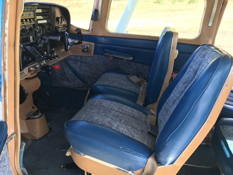 1968 Cessna Turbo TU-206C Super Stationair Interior