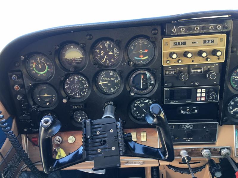 1968 Cessna Turbo TU-206C Super Stationair Panel