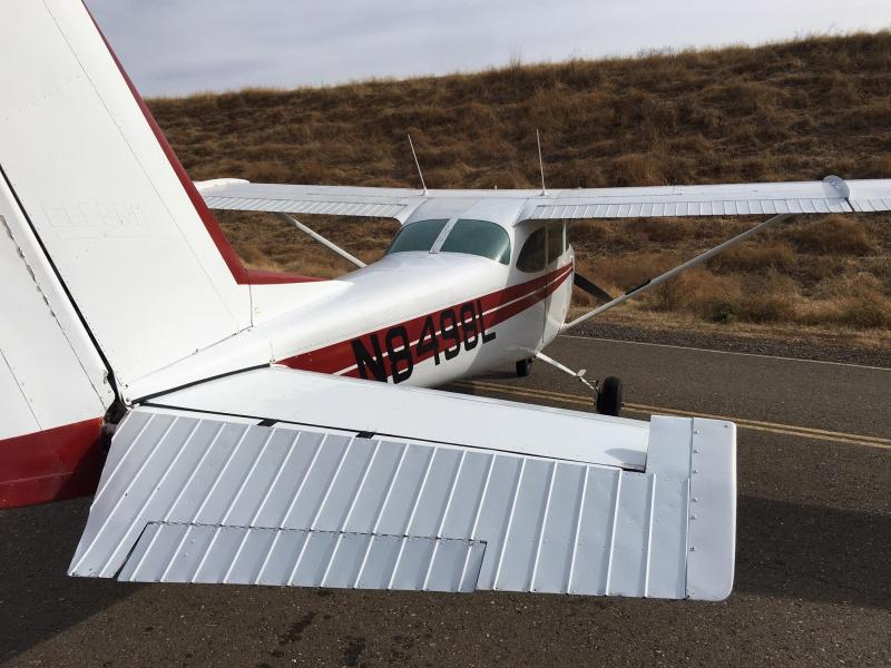 1968 Cessna 172 with Float Kit and Penn Yan 180 HP engine upgrade