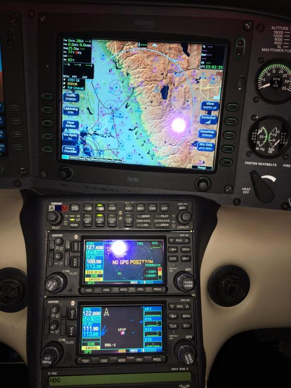 2004 Cirrus SR22 Panel