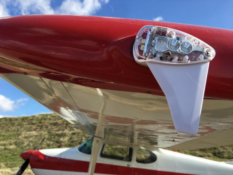 1953 Cessna 170B with Avcon 180 HP engine and constant speed prop