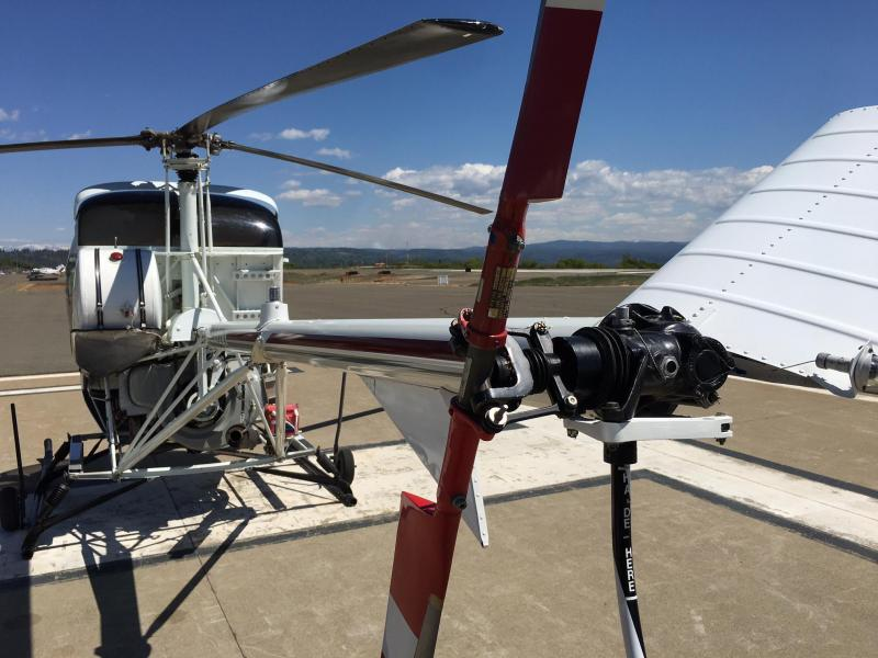 1965 Hughes 269A Helicopter