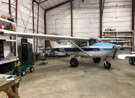 1977 Cessna 182Q Skylane bushplane with IO-520 Engine