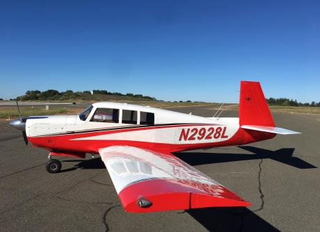 1967 Mooney M20F Executive Super 21